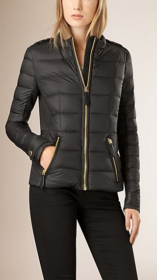Lightweight Down-filled Fitted Jacket