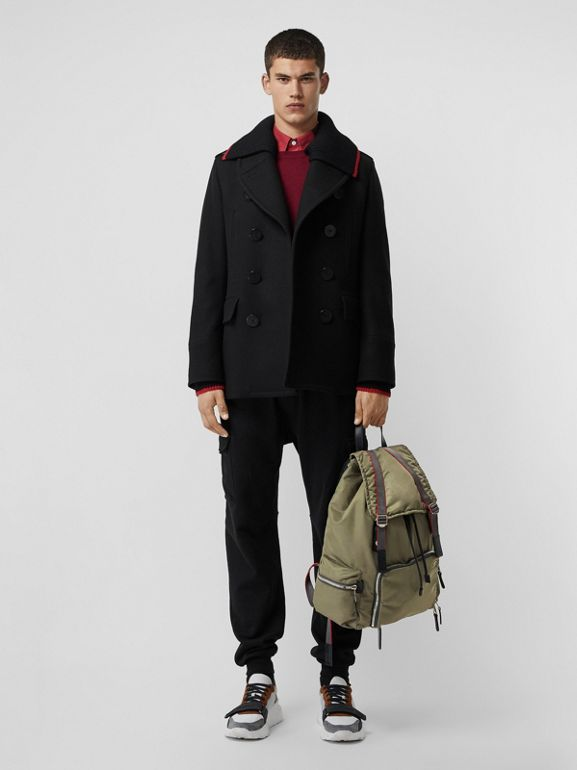 Sac The Rucksack extra-large en nylon façon aviateur (Céladon) - Homme | Burberry - cell image 1