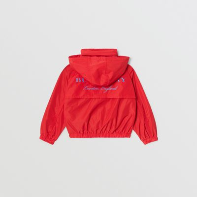 Burberry - Jacke aus Taft mit Memory-Effekt und packbarer Kapuze - 4
