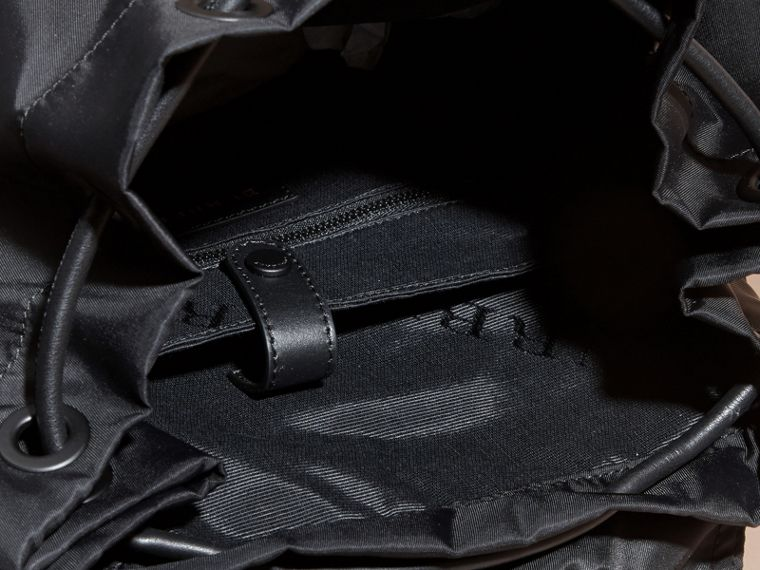 The Extra Large Rucksack in Technical Nylon and Leather - cell image 4