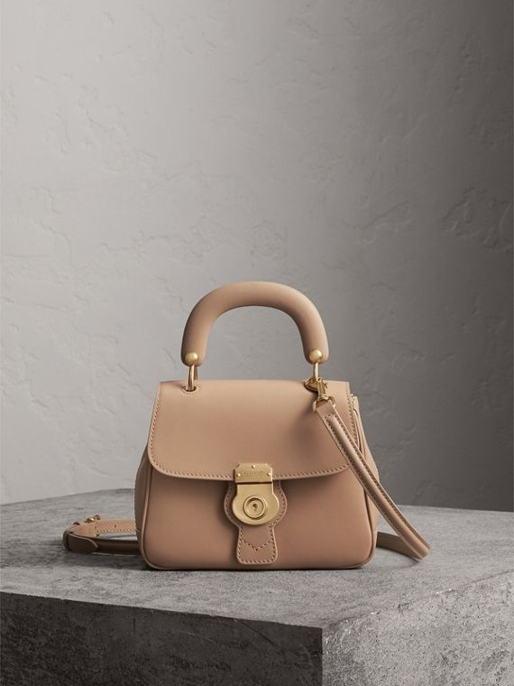 The Small DK88 Top Handle Bag in Honey
