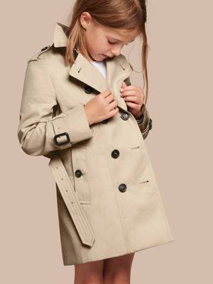 Girls Mac Coat