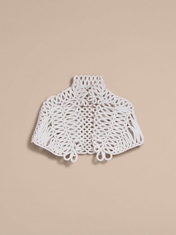 Hand-looped Rope Capelet - cell image 3