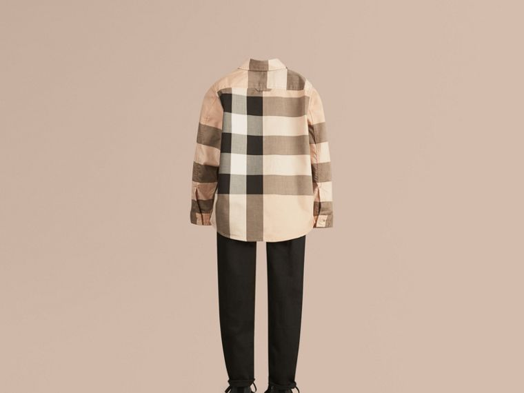 Check Cotton Shirt - Boy | Burberry - cell image 2
