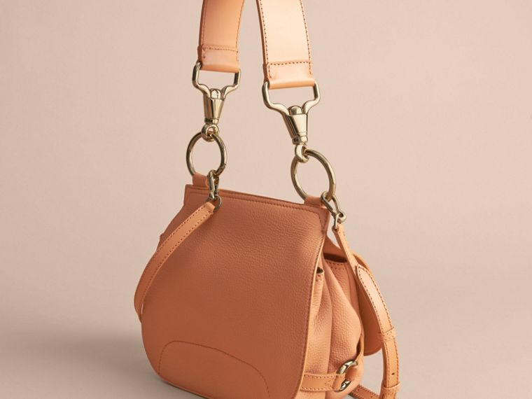 The Bridle Bag in Deerskin in Pale Clementine - Women | Burberry - cell image 4