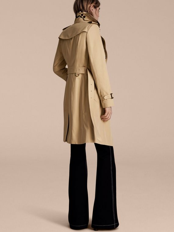Miele The Sandringham - Trench coat Heritage lungo Miele - cell image 2