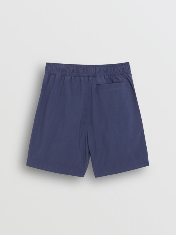 Drawcord Swim Shorts in Indigo | Burberry - cell image 3