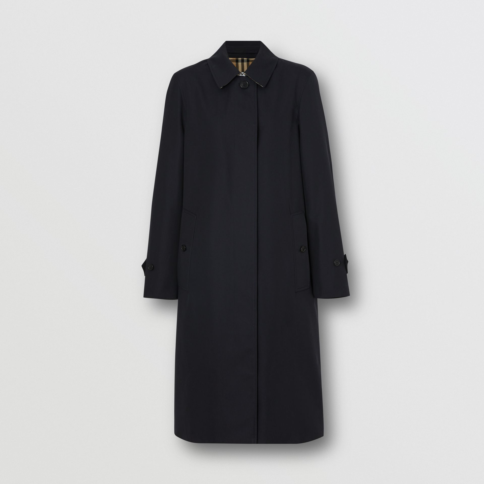 The Pimlico Car Coat in Midnight - Women | Burberry - gallery image 3
