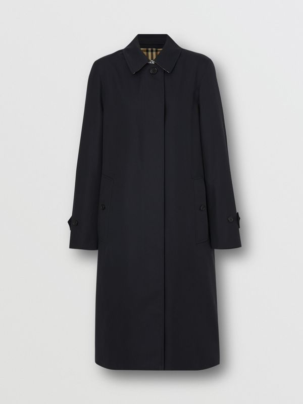 The Pimlico Car Coat in Midnight - Women | Burberry Hong Kong S.A.R - cell image 3