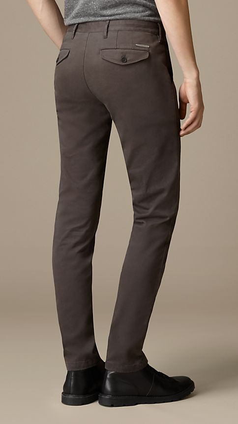 Flint Slim Fit Stretch-Cotton Twill Chinos - Image 2