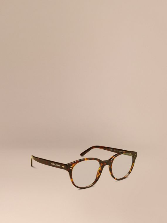 Round Optical Frames Tortoise Shell