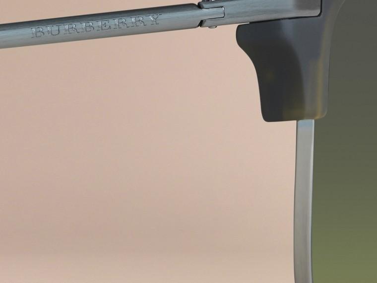 Olive Lunettes de soleil à monture carrée Olive - cell image 1