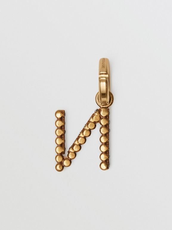 Crystal 'N' Alphabet Charm - Women | Burberry - cell image 1