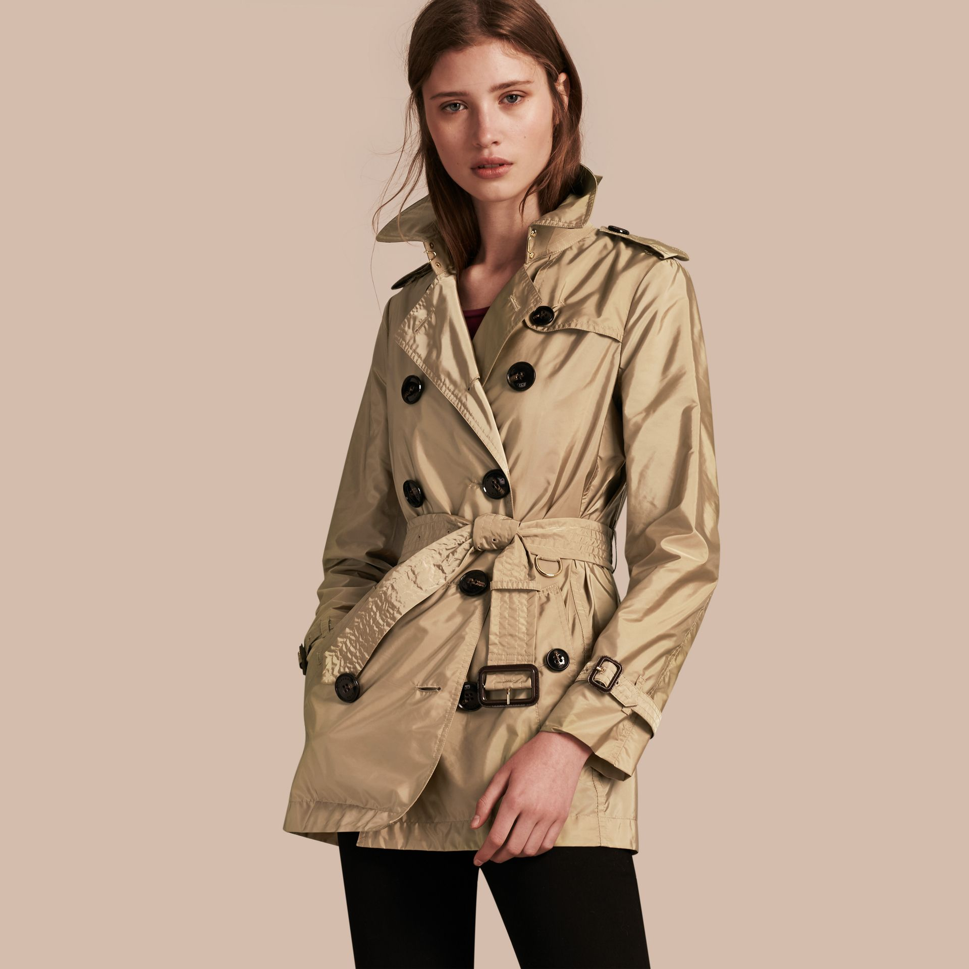 Sisal Lightweight Trench Coat Sisal - gallery image 1