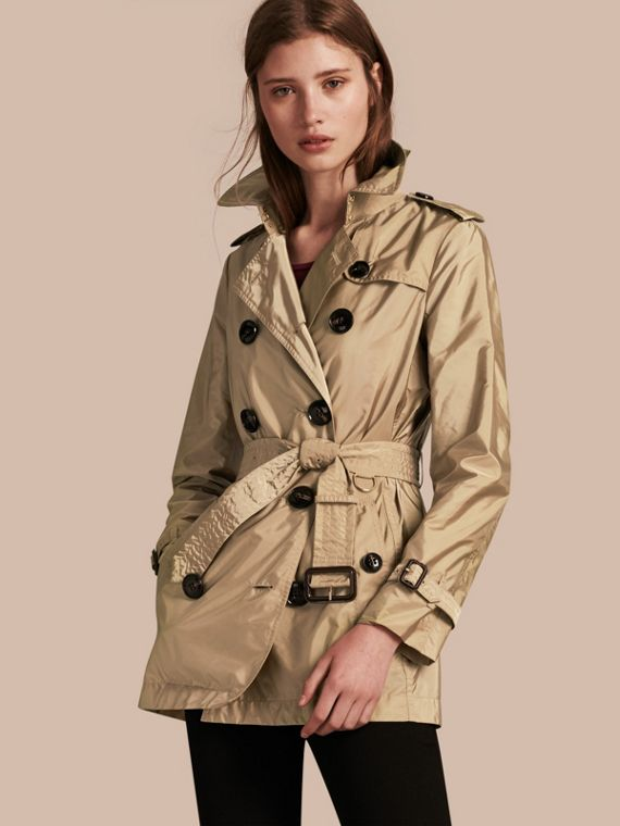 Lightweight Trench Coat Sisal