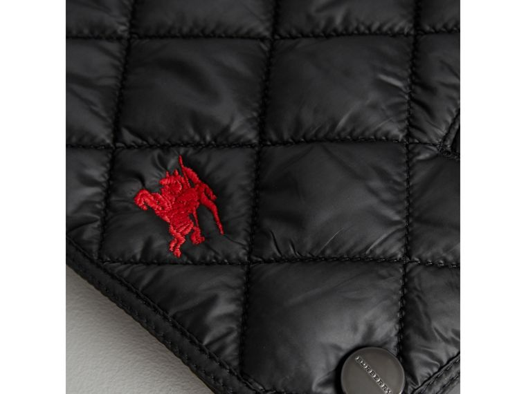 Lightweight Diamond Quilted Jacket in Black - Girl | Burberry Canada - cell image 1
