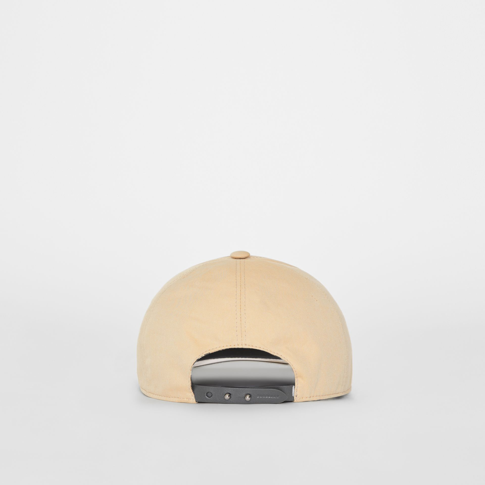 1983 Check Baseball Cap in Dark Sand | Burberry - gallery image 5