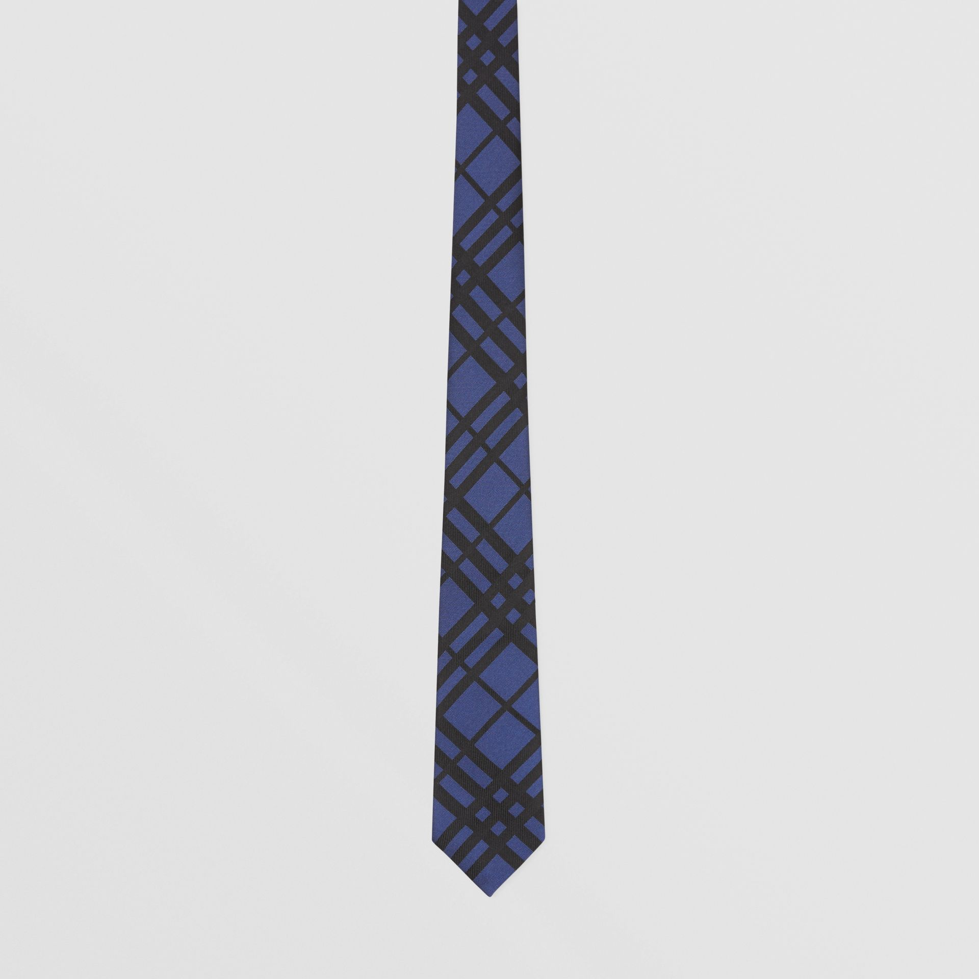 Classic Cut Check Silk Jacquard Tie in Canvas Blue - Men | Burberry Hong Kong S.A.R - gallery image 3