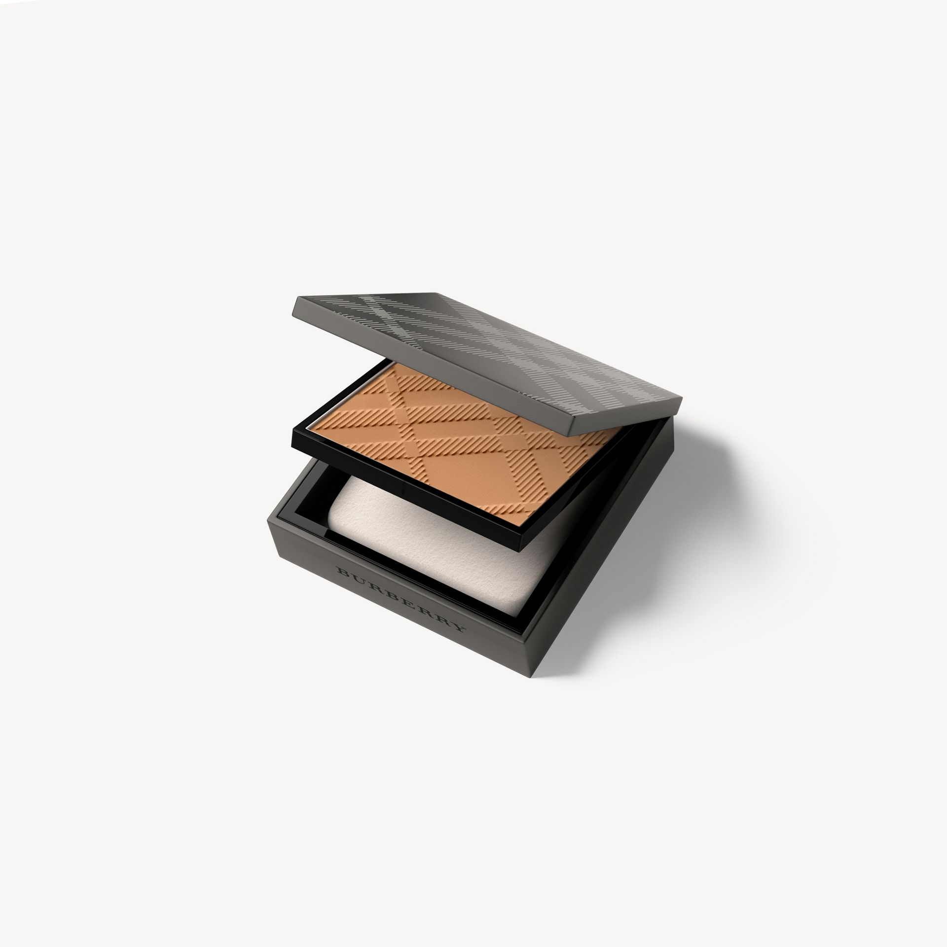 Matte Glow Compact Foundation – 60 Medium Warm - Women | Burberry United Kingdom - gallery image 0