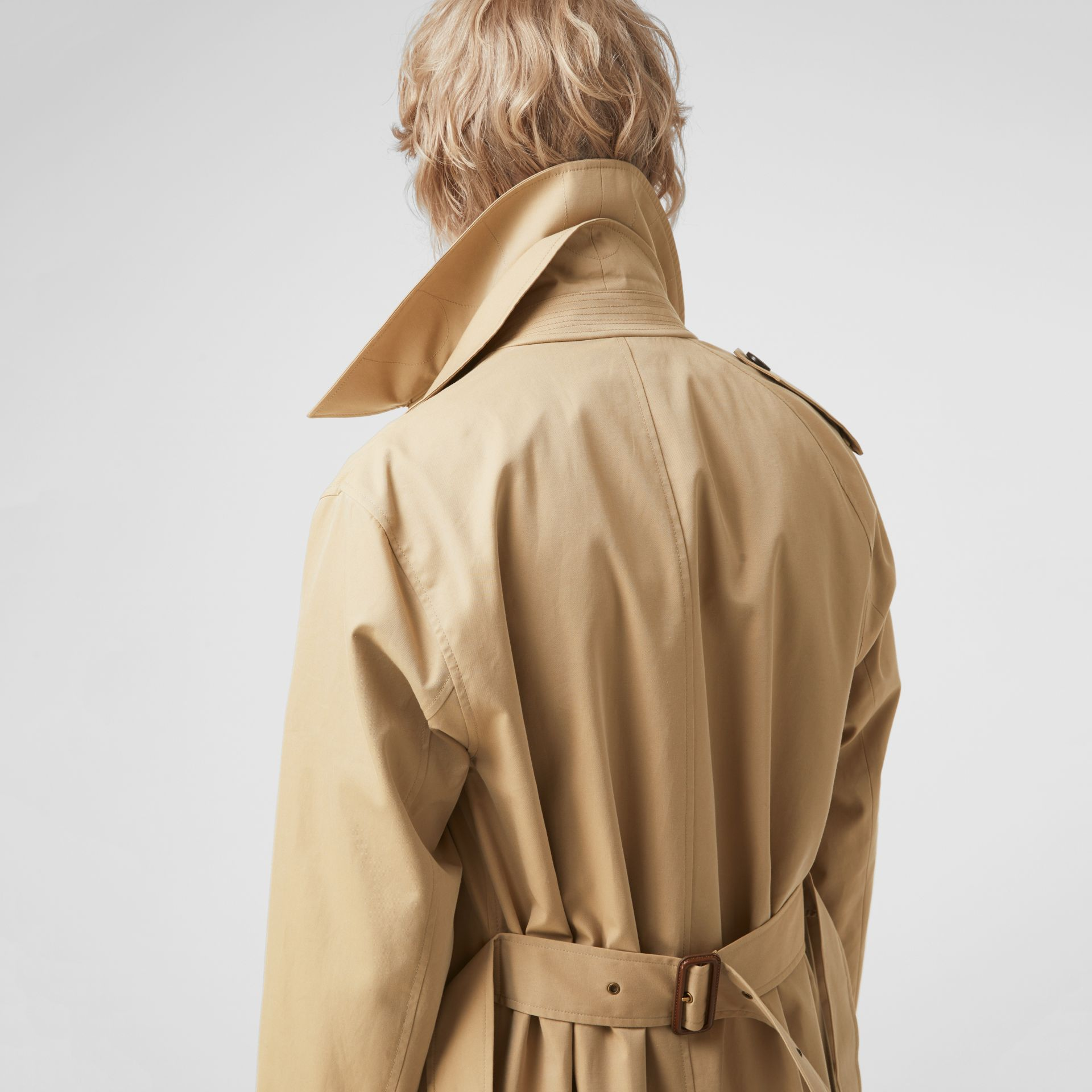 Gosha x Burberry Reconstructed Trench Coat in Honey | Burberry - gallery image 4