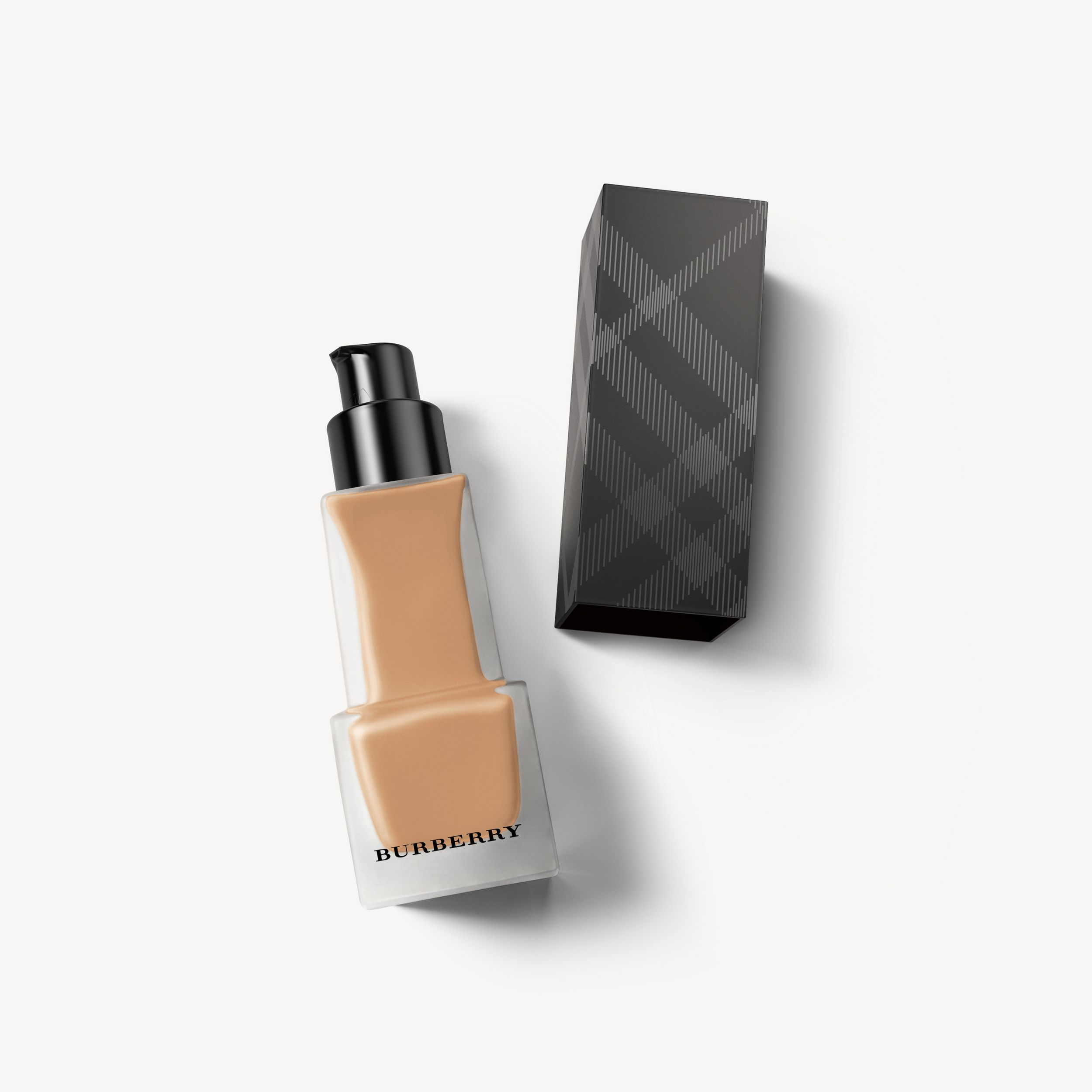 Matte Glow Liquid Foundation – 90 Deep Natural - Women | Burberry - 1
