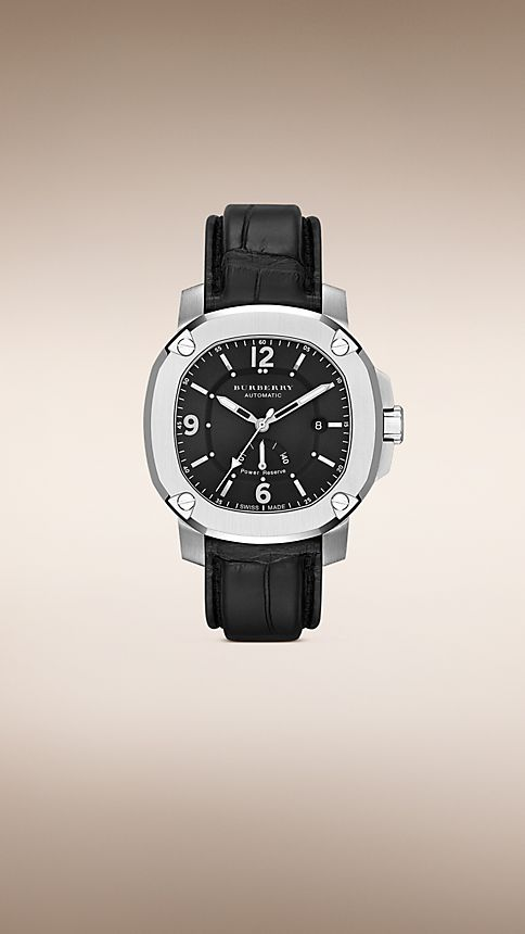 Black The Britain BBY1002 47mm Automatic - Image 1