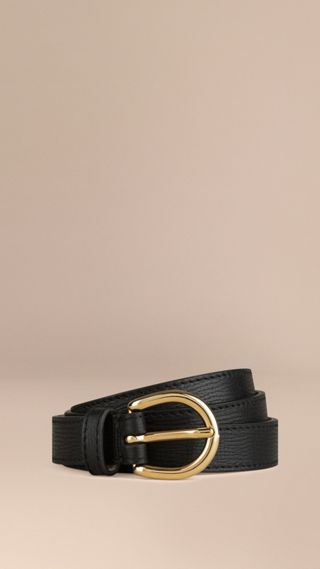 Grainy Leather Belt