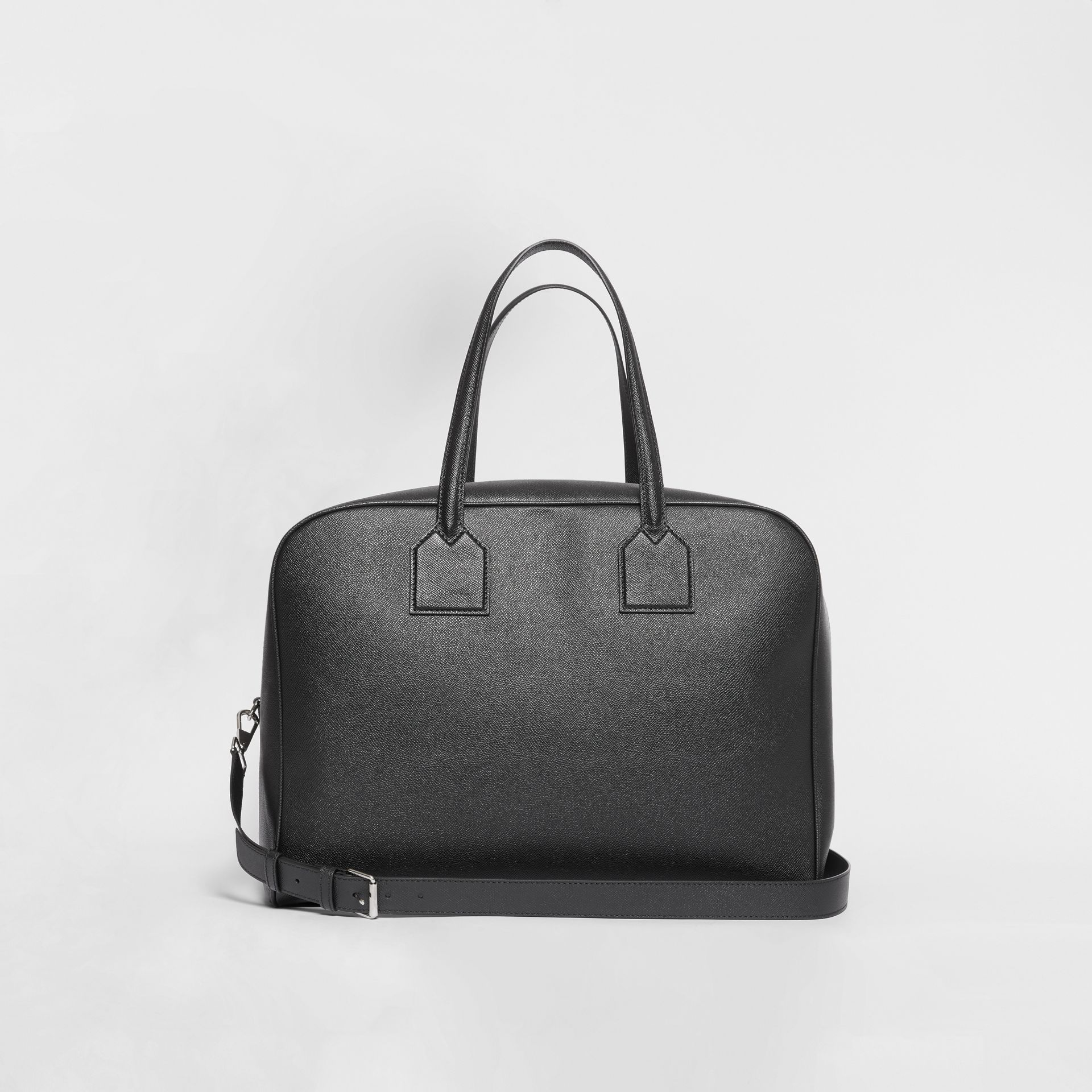 Large Leather Cube Bag in Black | Burberry - gallery image 5