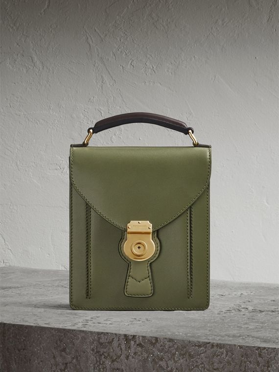 Petit sac cartable DK88 (Vert Mousse)