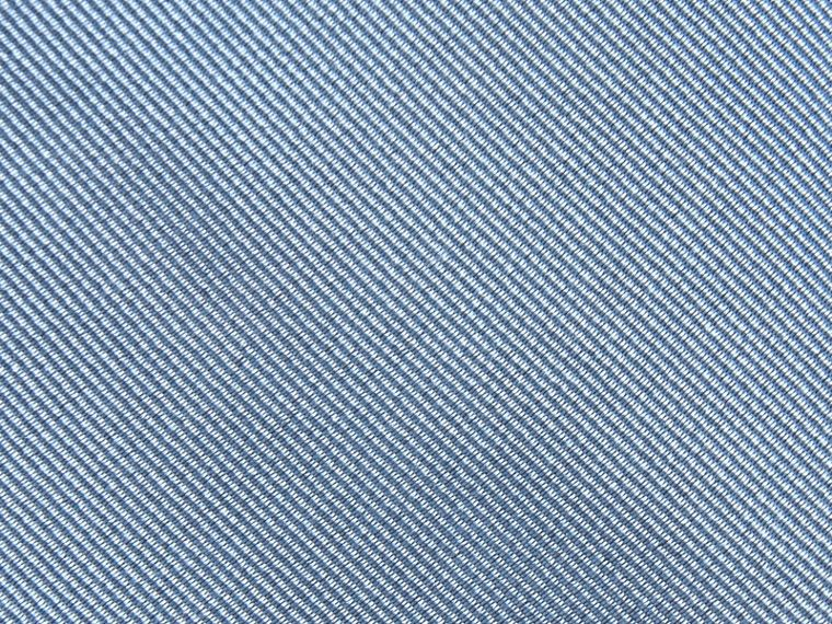 Sky blue Slim Cut Silk Twill Tie Sky Blue - cell image 1