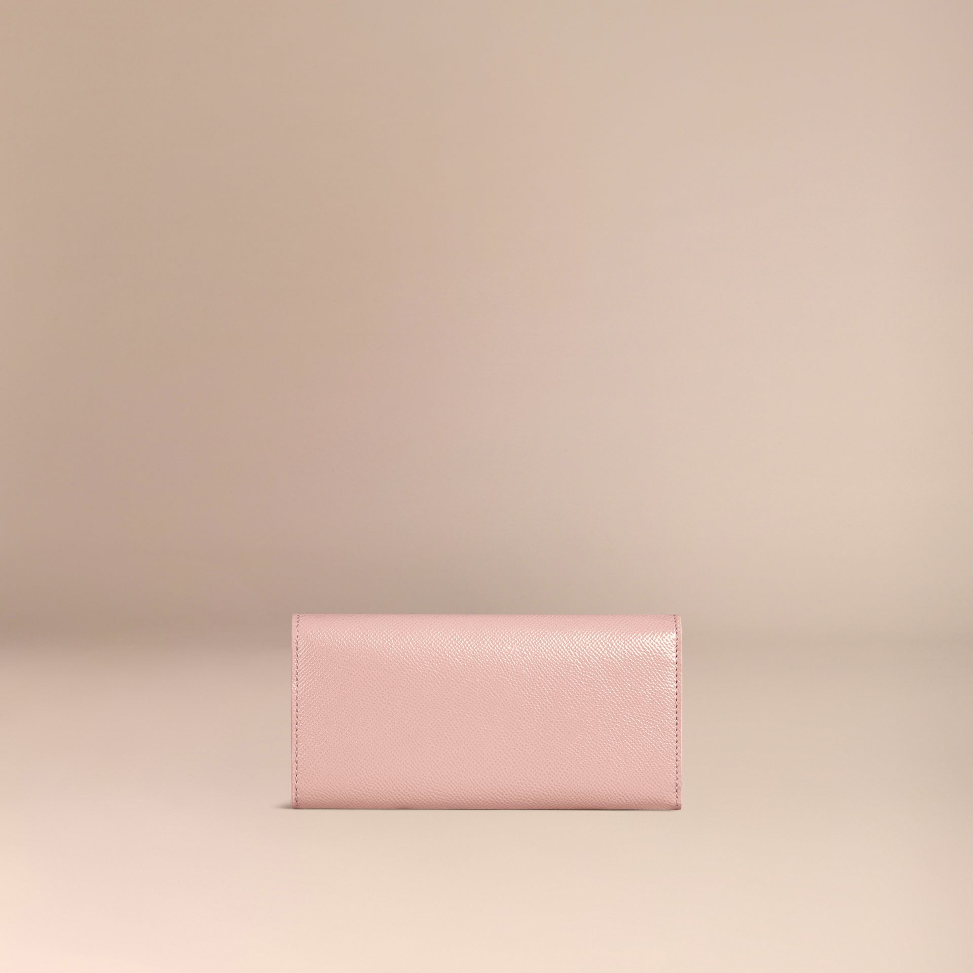 Ash rose Patent London Leather Continental Wallet Ash Rose - gallery image 4