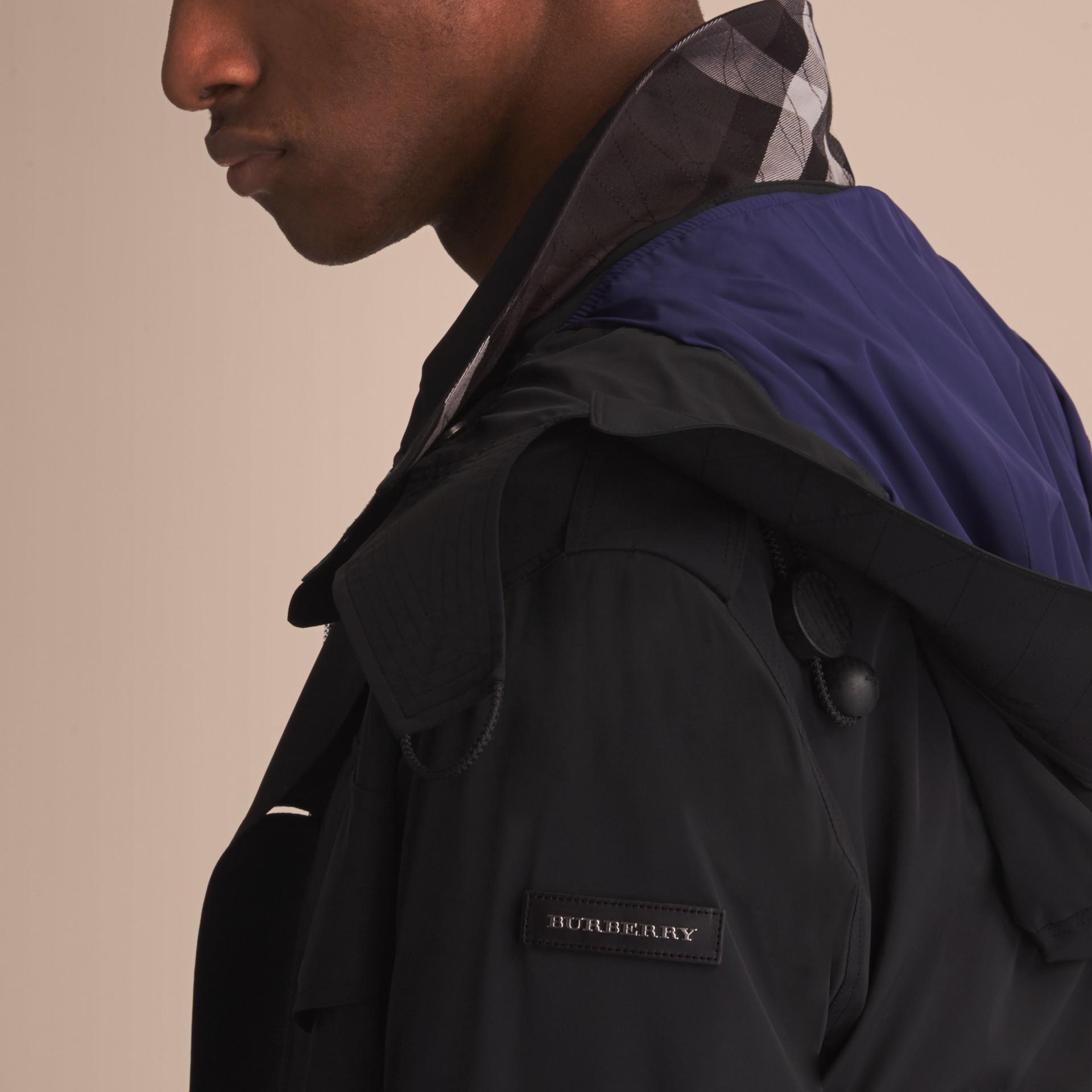Detachable Hood Packaway Field Jacket - gallery image 5