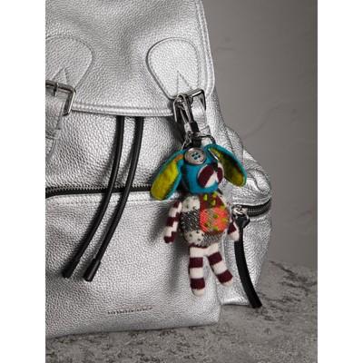 Burberry Daphne The Boxer Dog cashmere charm - Multicolour zel1I