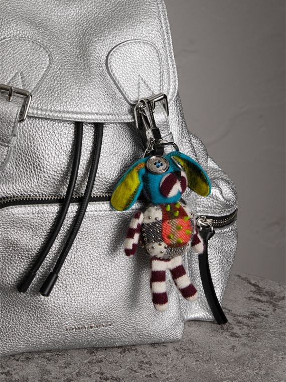 Daphne The Boxer Dog Cashmere Charm in Camel/multicolour | Burberry United Kingdom - cell image 2