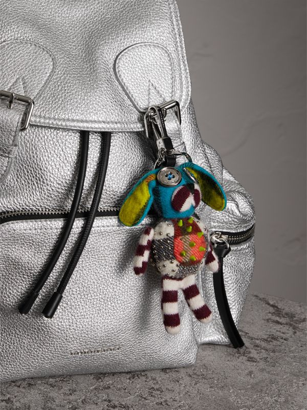 Daphne The Boxer Dog Cashmere Charm in Camel/multicolour | Burberry - cell image 2