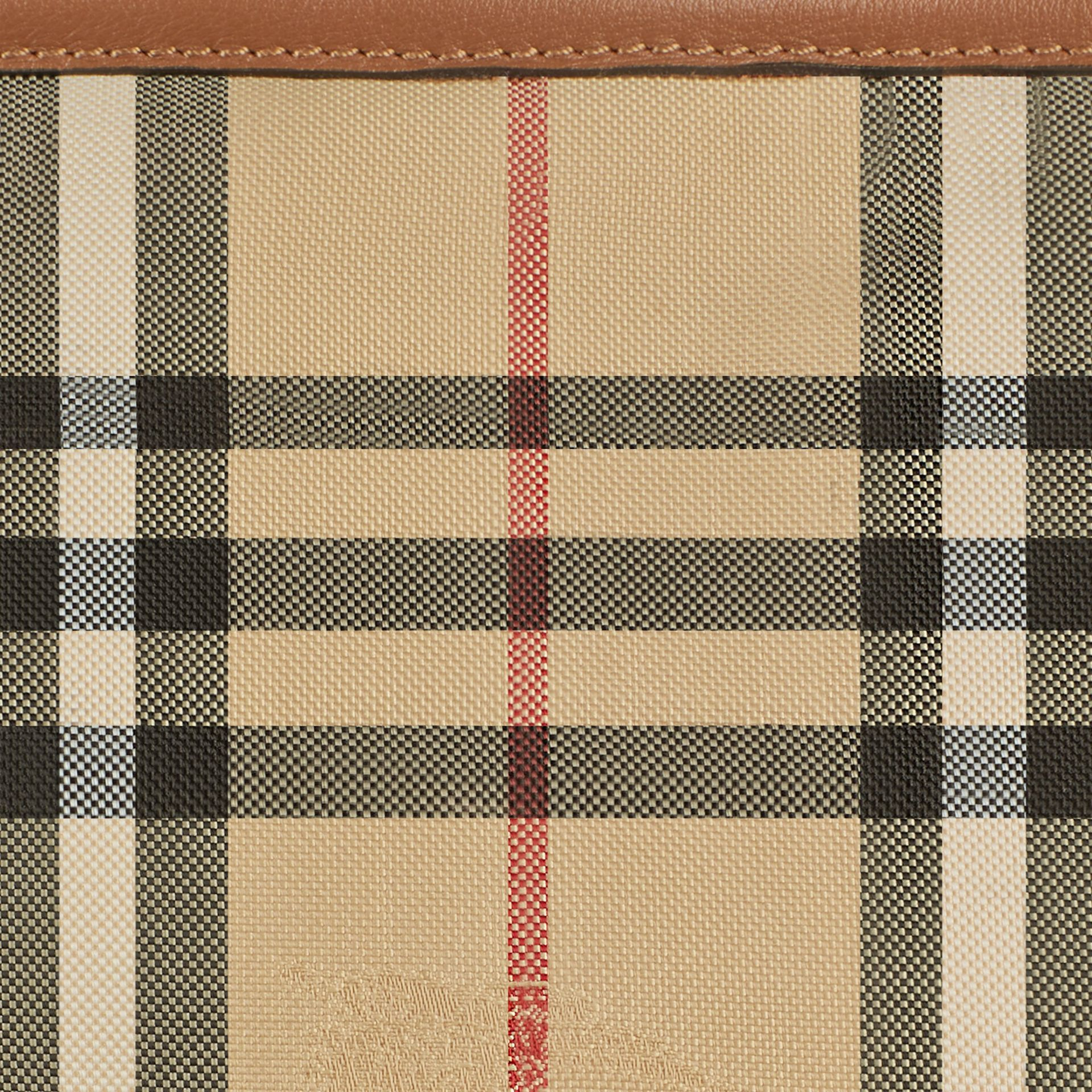 Horseferry Check Baby Changing Tote Bag in Tan | Burberry Canada - gallery image 2