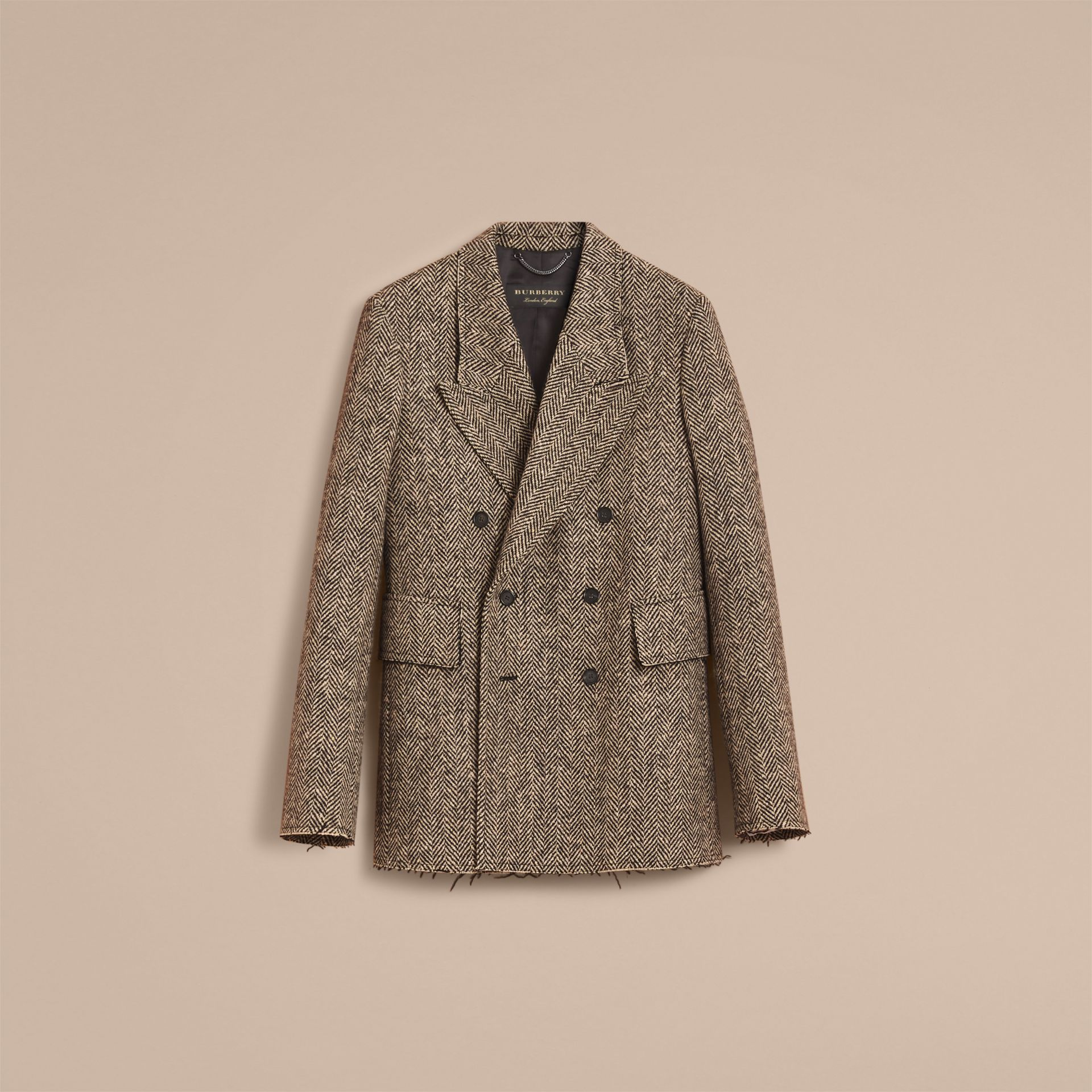 Donegal Herringbone Wool Tweed Blazer - Men | Burberry Hong Kong - gallery image 4