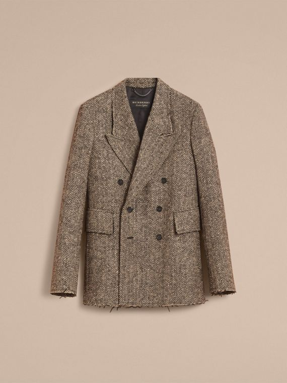 Donegal Herringbone Wool Tweed Blazer - Men | Burberry Hong Kong - cell image 3
