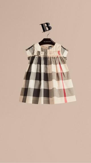 Check Cotton Dress