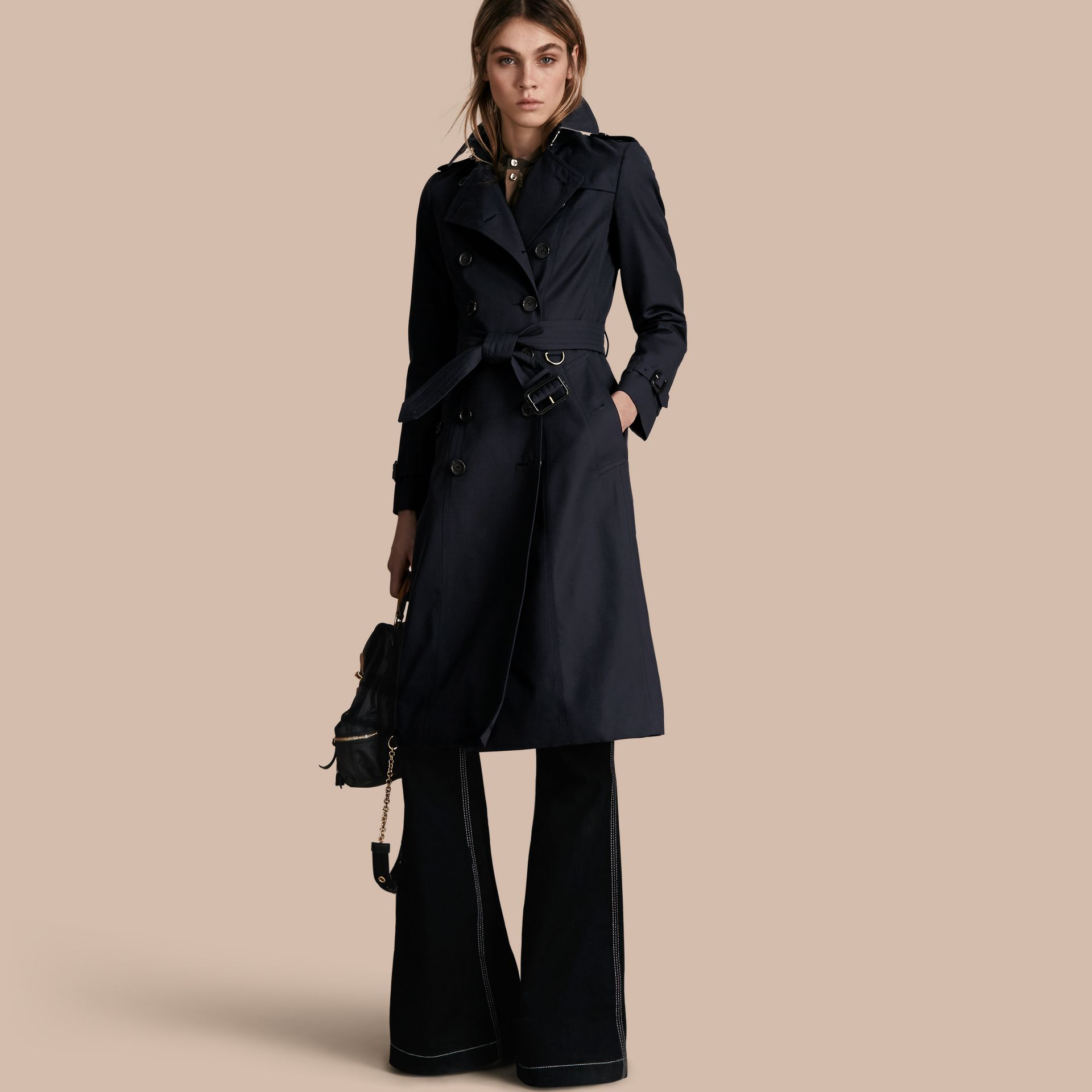 Marine Trench-coat Heritage extra-long The Chelsea Marine - photo de la galerie 1