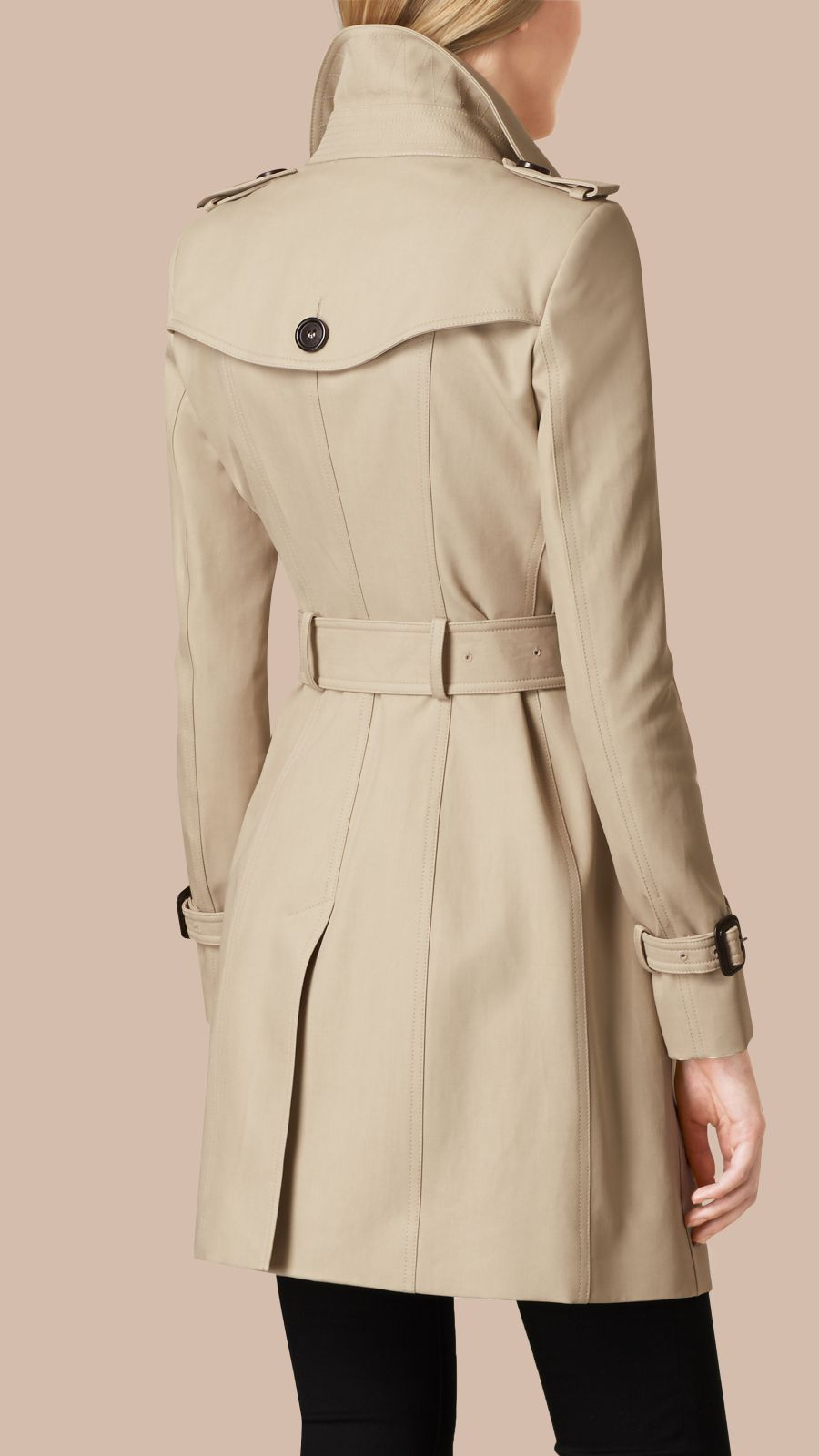 Trench Double Cotton Twill Trench Coat - Image 4