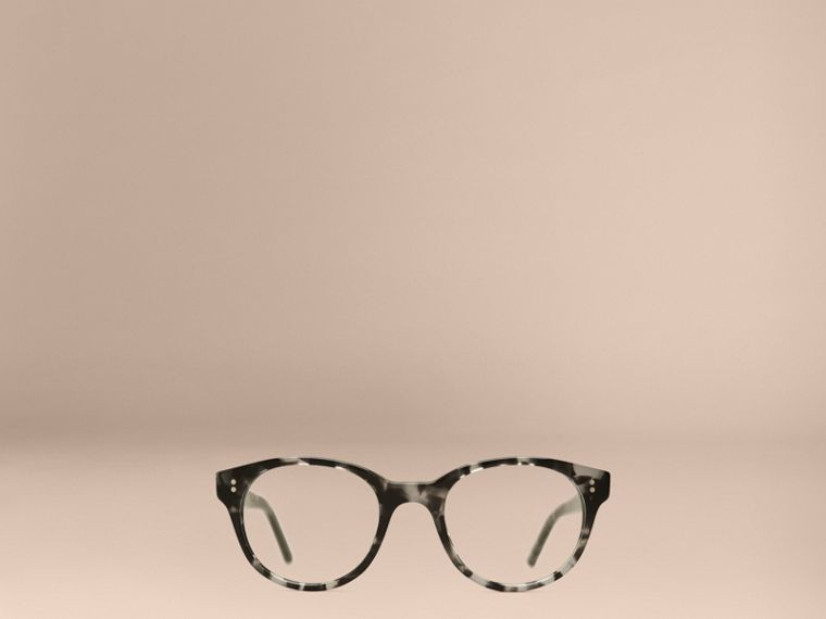 Gris Monture ronde pour lunettes de vue Gris - cell image 1