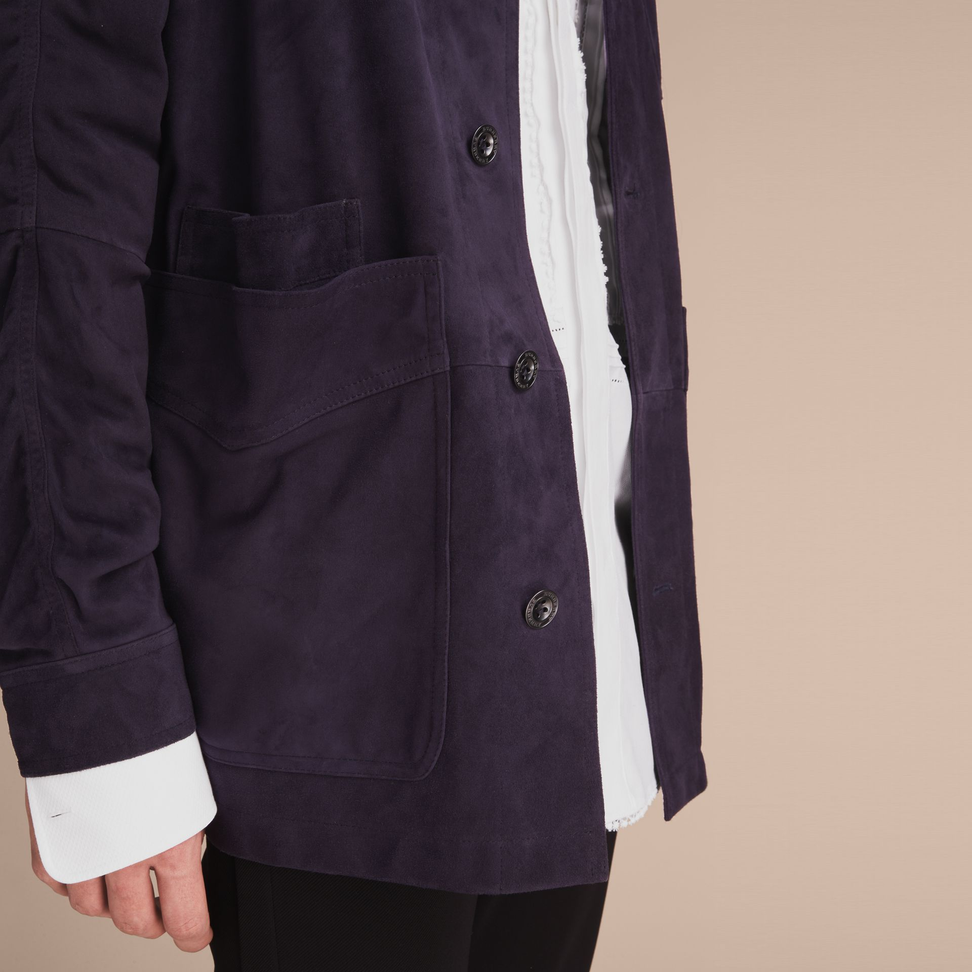 Suede Workwear Jacket - gallery image 5
