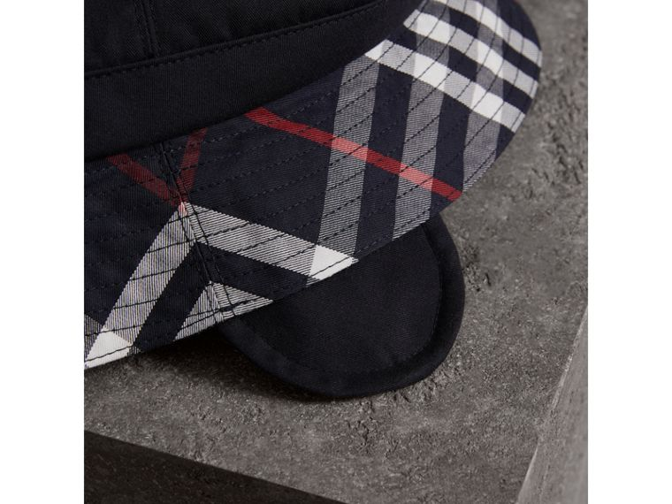 Gosha x Burberry Bucket Hat in Navy | Burberry Hong Kong - cell image 1
