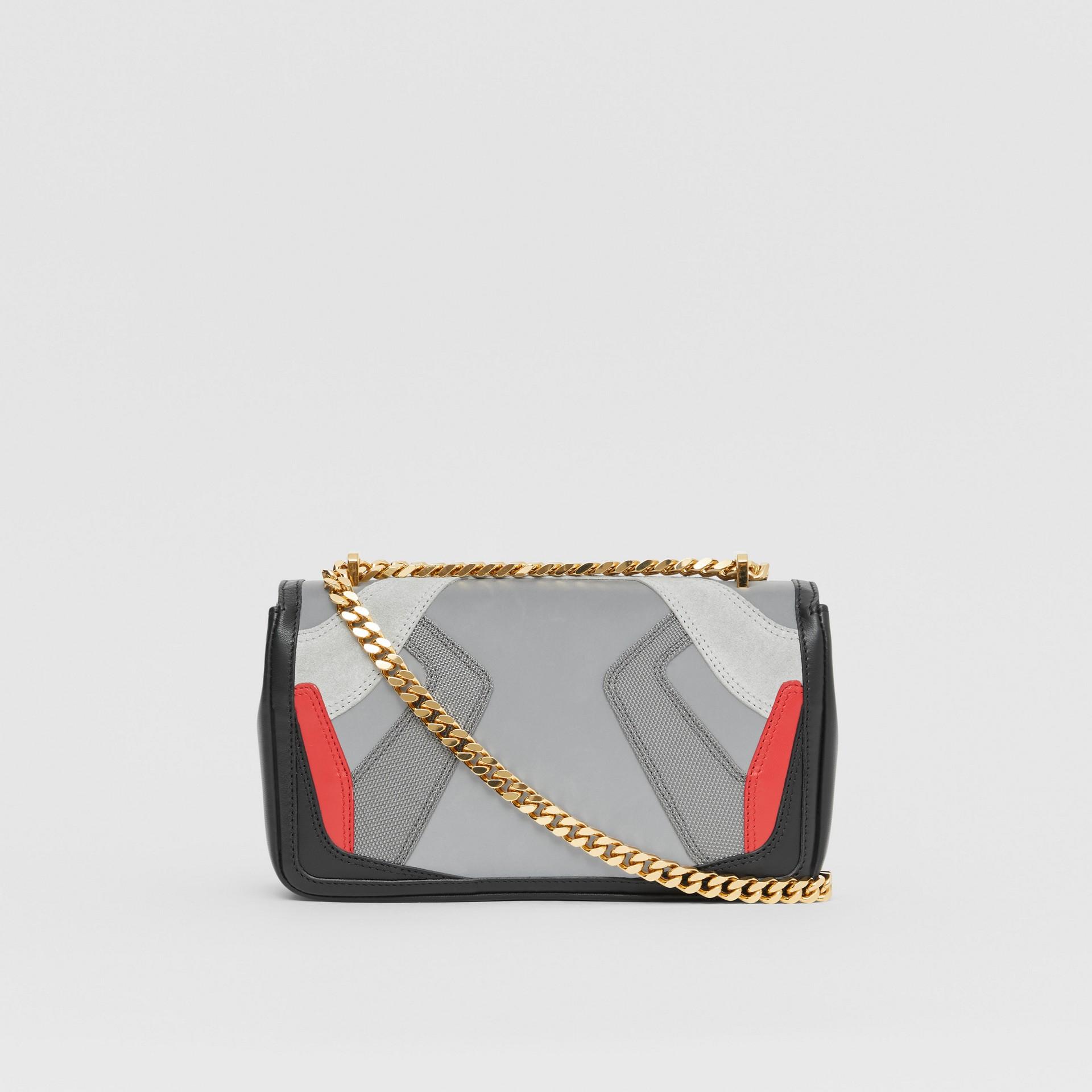 Small Appliqué Leather Lola Bag in Multicolour - Women | Burberry United Kingdom - gallery image 5