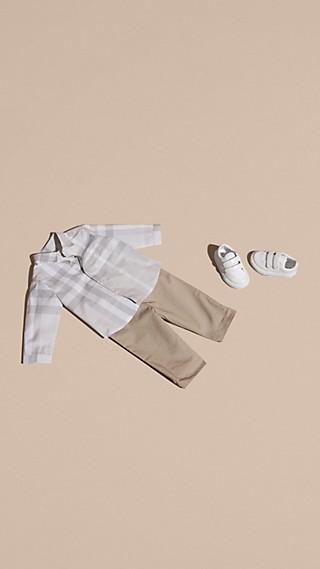 Washed Check Cotton Shirt
