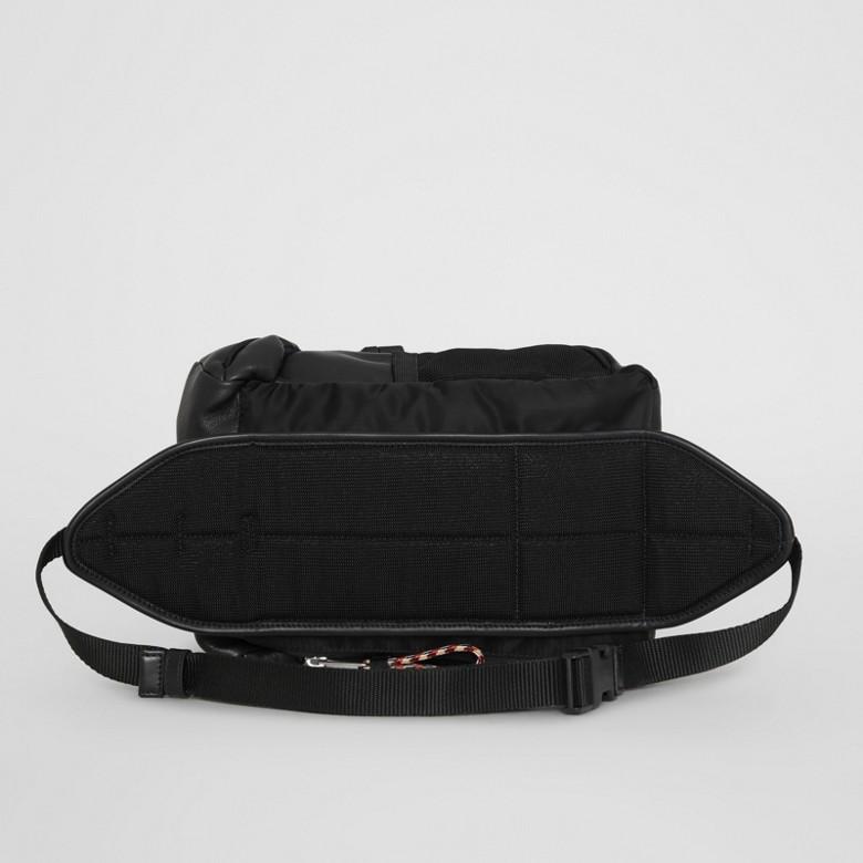 Burberry - Sac à dos ceinture Leo en cuir avec logo - 8
